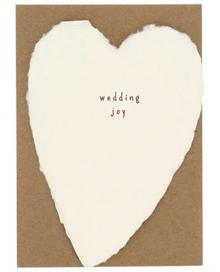 Coeur en papier Wedding Joy OBLATION PAPERS