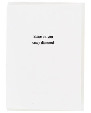 Shine on you crazy Diamond post card OBLATION PAPERS