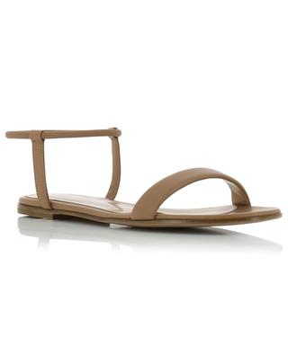 Jaime flat leather sandals GIANVITO ROSSI