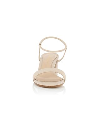 Sandales à talon carré en cuir nappa Nadia 60 GIANVITO ROSSI