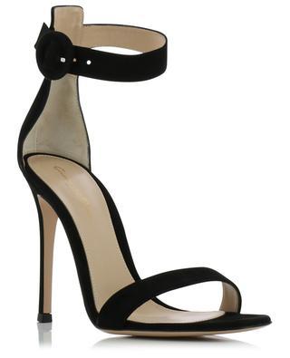 Portofino 105 heeled suede sandals GIANVITO ROSSI
