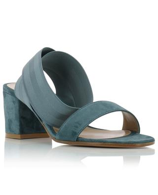 Sandalen aus Wildleder mit Blockabsatz Emily 60 GIANVITO ROSSI