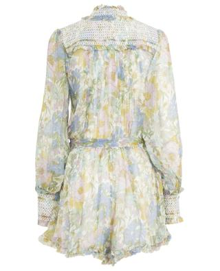 Super Eight floral chiffon playsuit ZIMMERMANN