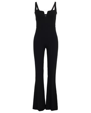 Signature Corset crepe jumpsuit GALVAN LONDON