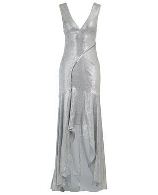 Silbernes Abendkleid Relevé GALVAN LONDON
