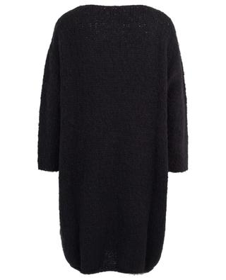 Boolder alpaca and merino wool oversized knit dress AMERICAN VINTAGE