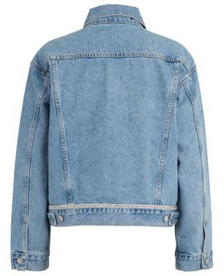 Kim Stoned Love crystal embellished denim jacket GRLFRND