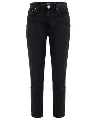 Slim-Fit Jeans mit Detail aus Kristallen Karolina GRLFRND