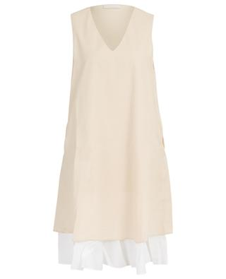 Cotton blend A-line dress FABIANA FILIPPI