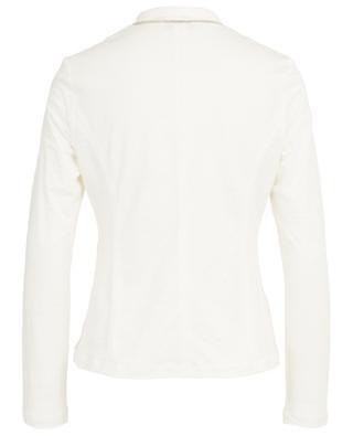 Lightweight linen jersey blazer with poplin detail FABIANA FILIPPI