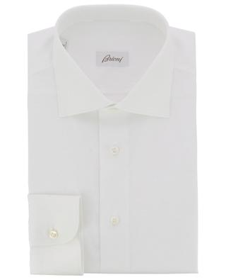 Brunico shirt adorned with thin textured stripes BRIONI