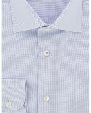 Brunico shirt with small checks BRIONI