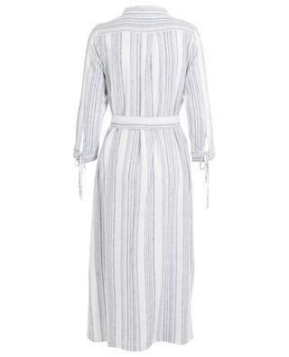 Kapas loose striped shirt dress HEMISPHERE