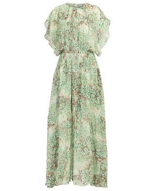 Freddy floral print long dress with pleats HEMISPHERE