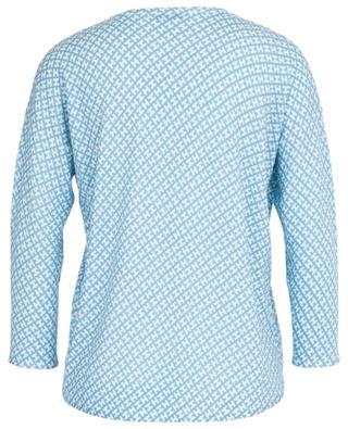 Thin monogrammed V-neck cardigan HEMISPHERE
