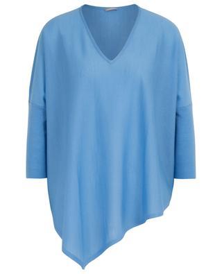 Feiner Pullover aus Merinowolle mit V-Ausschnitt HEMISPHERE