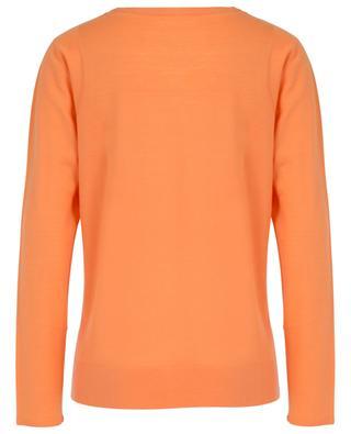 Merino wool fine round neck jumper HEMISPHERE