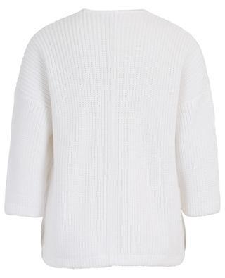 Pima cotton thick cardigan HEMISPHERE