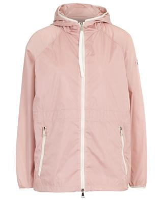 Eau hooded glossy nylon lightweight jacket MONCLER