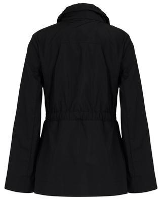 Ocre short parka with concealed hood MONCLER