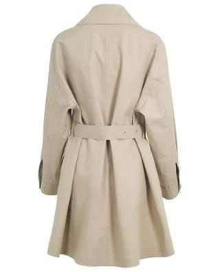 Lie lightweight cotton blend trench coat MONCLER