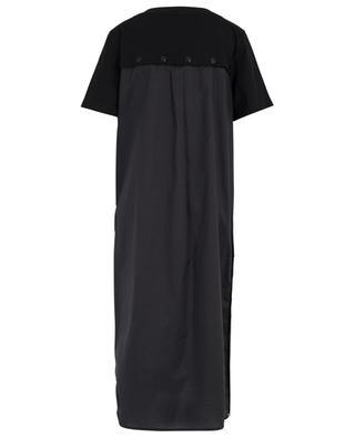 Robe T-shirt midi en coton MONCLER