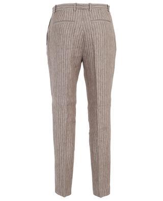 Montefalco striped linen straight fit trousers FABIANA FILIPPI