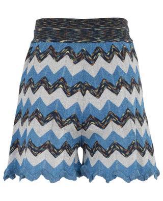 Knit shorts with Lurex M MISSONI