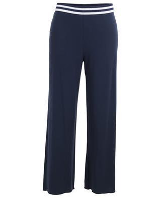 Gabrielle modal blend pyjama trousers BLUE LEMON