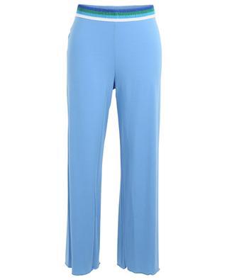 Pyjamahose aus Modalmix Gabrielle BLUE LEMON