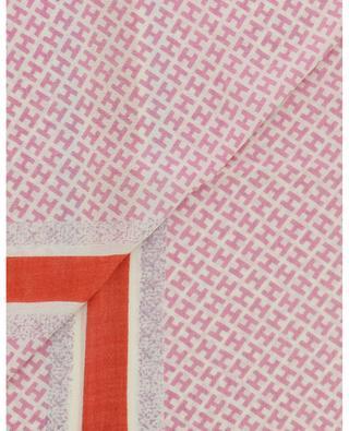 Schal mit Monogramm und Streifen Tagbi-CS HEMISPHERE
