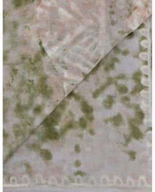 Siska-TSC square batik and geo print shawl HEMISPHERE