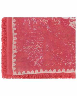 Quadratisches Tuch mit Batik- und Geo-Print Siska-TSC HEMISPHERE