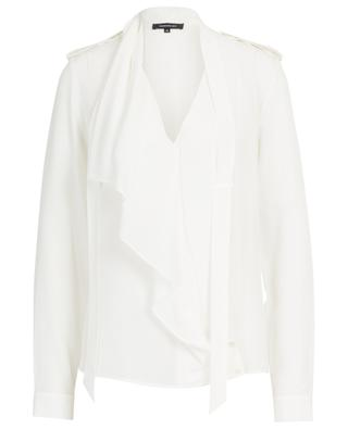 Silk blouse with ruffle BARBARA BUI