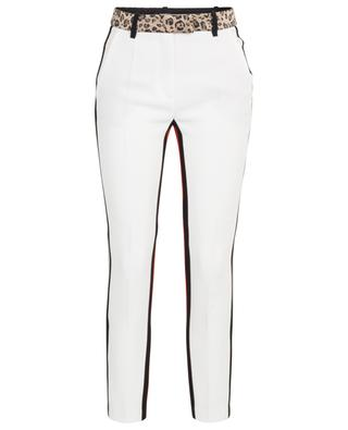 Multi Graphismes tapered leg trousers BARBARA BUI