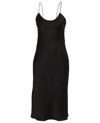 Satin sleeveless slip dress SAINT LAURENT PARIS