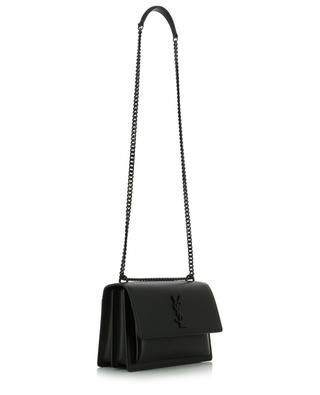 Sunset textured leather shoulder bag SAINT LAURENT PARIS