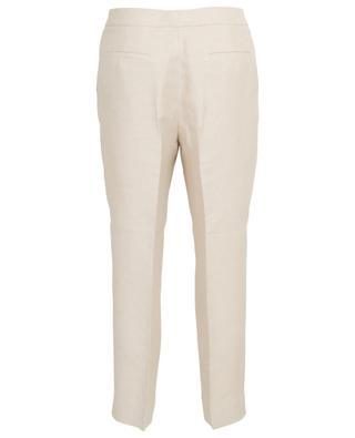 Linen blend 7/8 trousers FABIANA FILIPPI