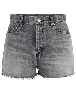 Lässige Shorts aus Denim im Used-Look SAINT LAURENT PARIS