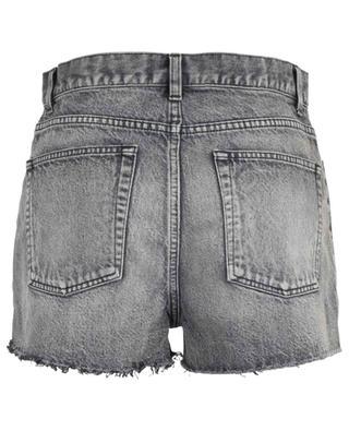Distressed baggy denim shorts SAINT LAURENT PARIS