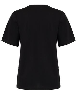 Print cotton T-shirt SAINT LAURENT PARIS