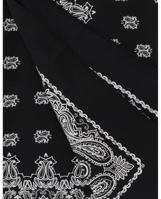 Quadratisches Tuch aus Seidentwill Bandana SAINT LAURENT PARIS
