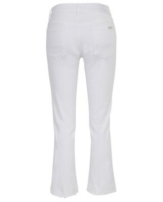 Jean raccourci évasé Cropped Boot Unrolled Pure White 7 FOR ALL MANKIND