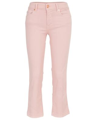 Cropped Boot Unrolled Sweet Pink jeans 7 FOR ALL MANKIND