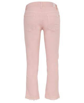 Jean évasé raccourci Cropped Boot Unrolled Sweet Pink 7 FOR ALL MANKIND