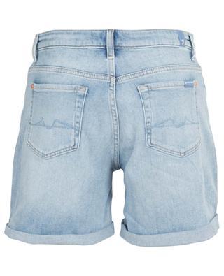 Boy Blurred high-rise denim shorts 7 FOR ALL MANKIND