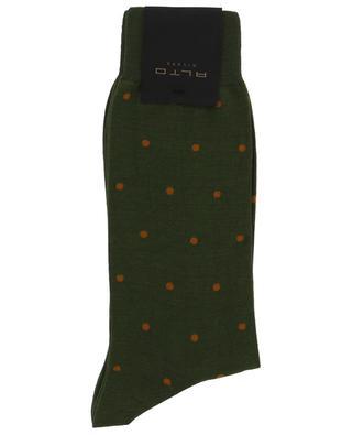 Gepunktete Socken aus Baumwollgemisch ALTO MILANO