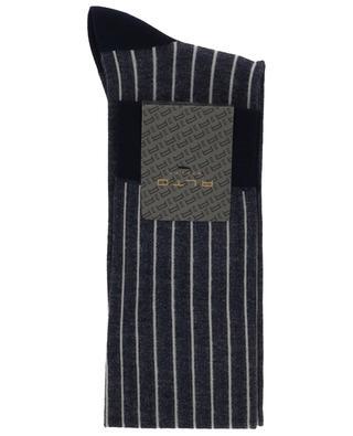 Chaussettes rayées en coton mélangé ALTO