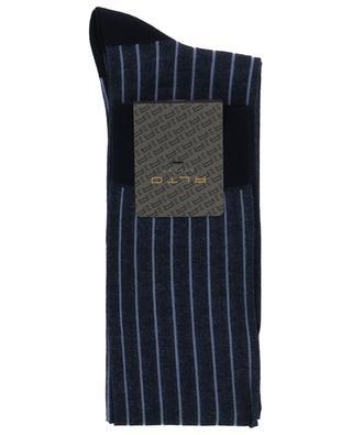 Chaussettes rayées en coton mélangé ALTO MILANO