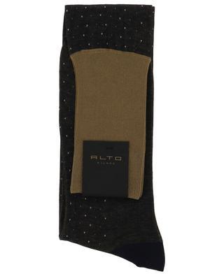 Bracco Long cotton socks ALTO MILANO